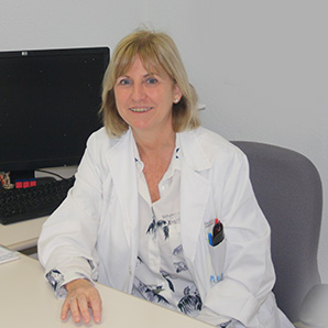 Nuria Estañ Capell, Head of the Clinical Analysis Department